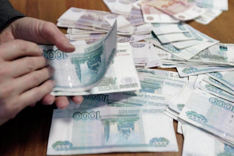 Российские рубли. 17 декабря 2014