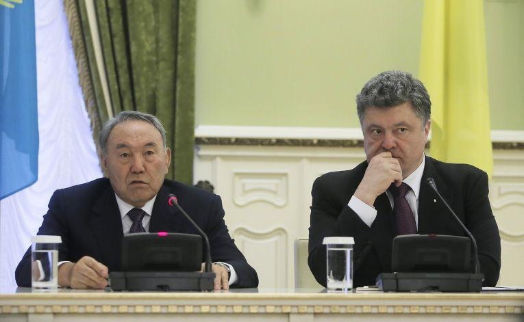 Визит Нурсултана Назарбаева в Киев