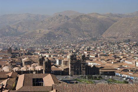 Город Куско в Перу