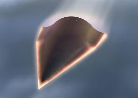 Сверхзвуковой ракетоплан Falcon, разрабатываемый агентством DARPA