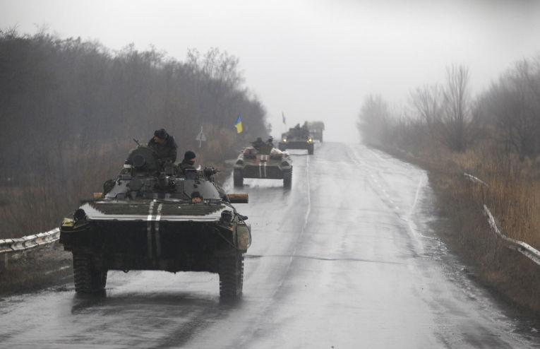 Украинские танки движутся в сторону Артемовска