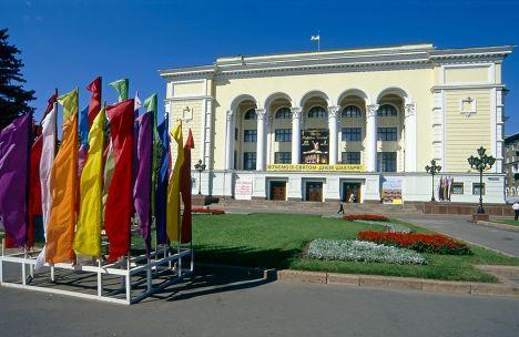 Театр оперы и балета в Донецке