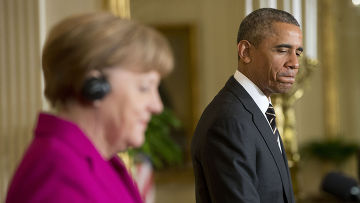 Совместная пресс-конференция Барака Обамы и Ангелы Меркель