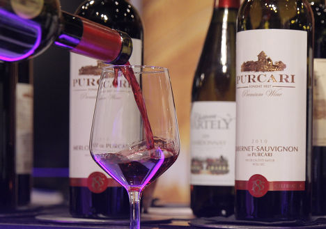 Молдавское вино на ярмарке в Бельгии