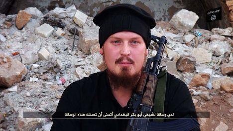 Немец Филипп Б. (Абу Усама аль-Альмани), воюющий на стороне Исламского государства