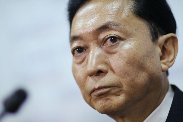 Пресс-конференция бывшего премьер-министра Японии Юкио Хатояма в Симферополе