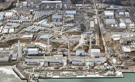 Вид на АЭС Фукусима-1 спустя 4 года после трагедии