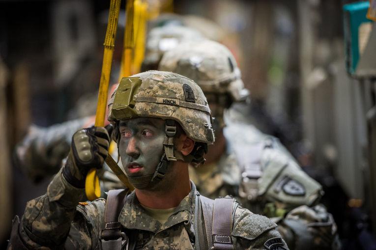 Американские солдаты попали прошлое