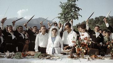 Свадьба в грузинском селе Ахалсопели