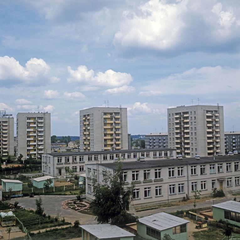 Архитектура рижского района Югла