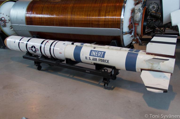 Противоспутниковая ракета ASM-135 ASAT
