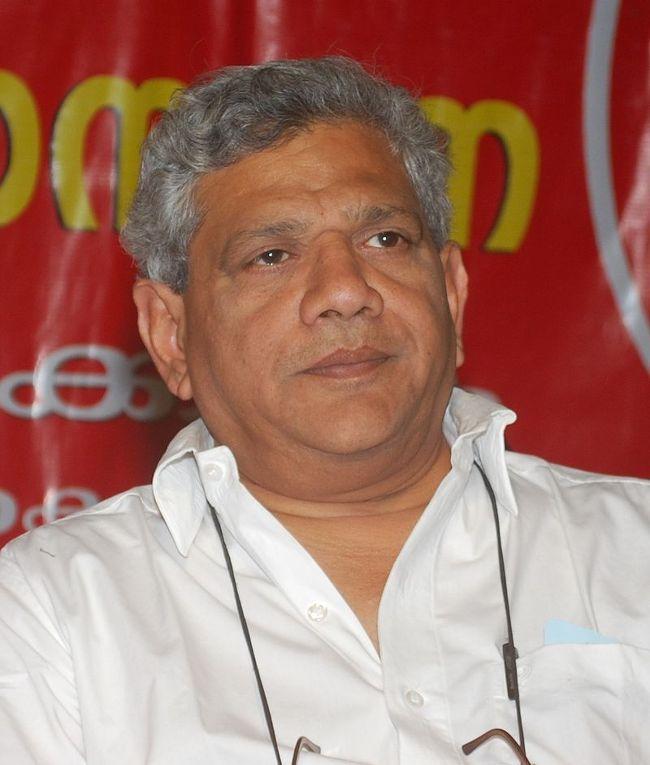 Генеральный секретарь Коммунистической партии Индии Ситарам Йечури