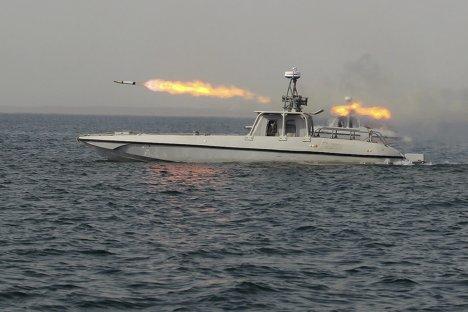 Учения иранских ВМС в Персидском заливе