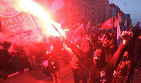 Марш на День независимости Польши в Варшаве, 11 ноября 2013 года