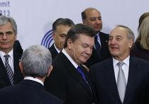 Виктор Янукович на саммите Восточного партнерства в Риге, ноябрь 2013 года