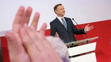 Кандидат в президенты Польши Анджей Дуда