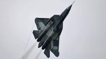 Российский истребитель «Сухой ПАК ФА»