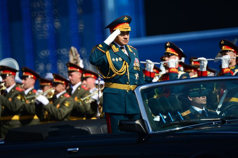 Военный парад в честь 70-летия Победы в Великой Отечественной войне 1941-1945 годов