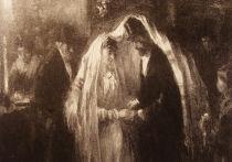 Еврейская свадьба. Картина художника Йозефа Исраэлса