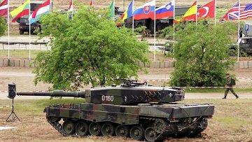 Учения Сил быстрого реагирования НАТО Noble Jump-15