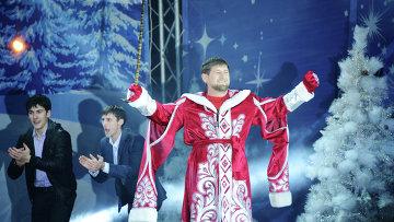 Празднование Нового года в Грозном