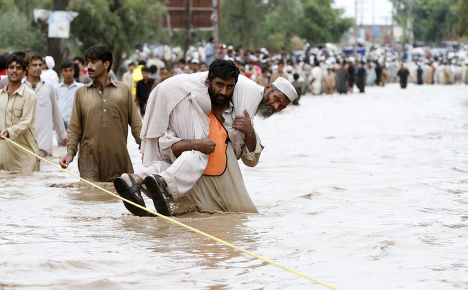 Наводнение в Пешаваре, Пакистан