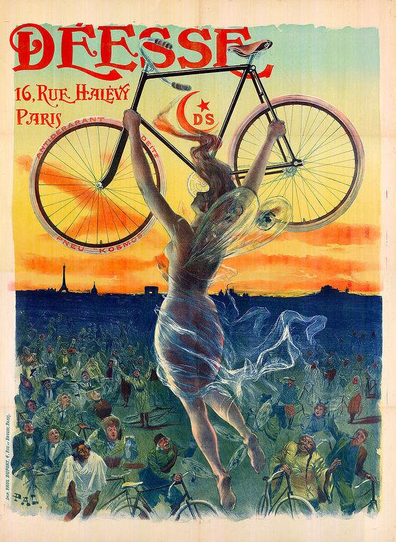 Рекламный плакат Жана де Палеологу