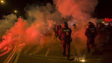 Нападение на приют для беженцев в Хайденау, Германия