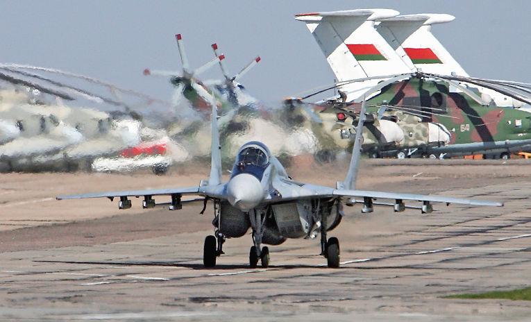 Белорусский истребитель МиГ-29