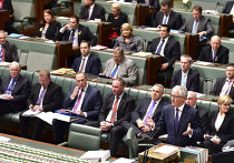 Обращение Малкольма Тернбулла к парламенту после его избрания премьер-министром