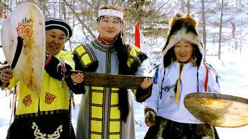 Народность нивхи из Сахалинской области