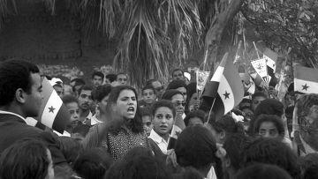 Антиизраильский митинг в Египте, 1970 год