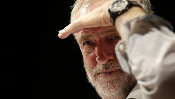 Глава Лейбористской партии Великобритании Джереми Корбин