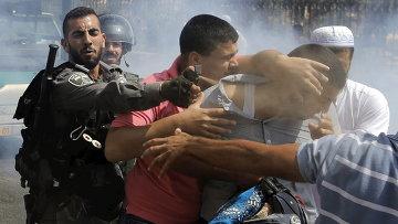 Столкновения между палестинцами и израильской полицией в Восточном Иерусалиме, Израиль