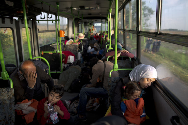 Сирийские беженцы в Венгрии