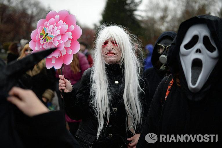 Хеллоуин в Новосибирске