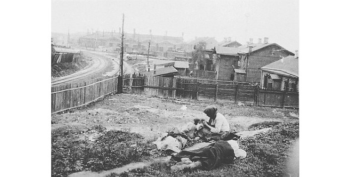 Голодомор на Украине, 1932-1933 годы. Фотография Александра Винебергера