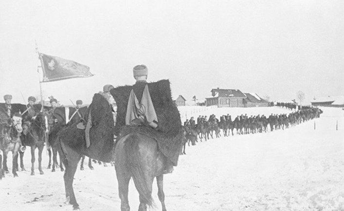 Казаки в рядах Красной армии
