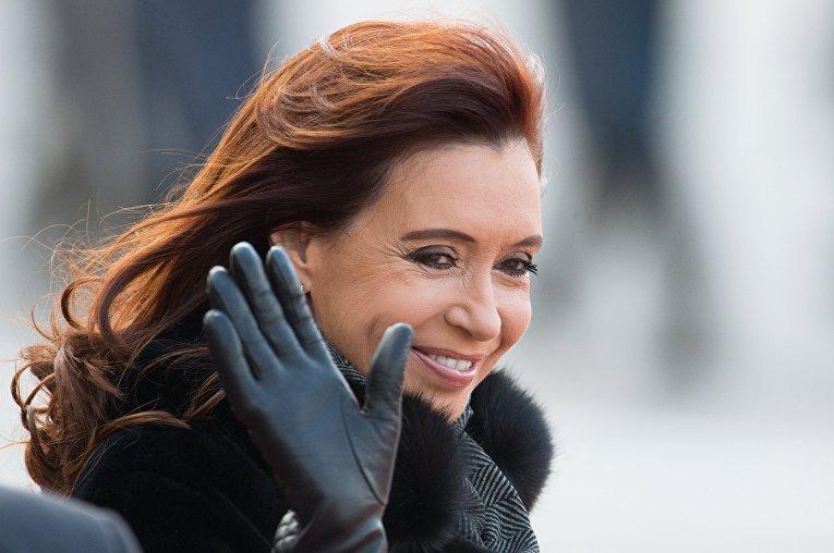 Прилет президента Аргентинской Республики Кристины Фернандес де Киршнер в Москву