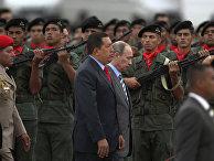 Президент Венесуэлы Уго Чавес и президент России Владимир Путин, апрель 2010 года
