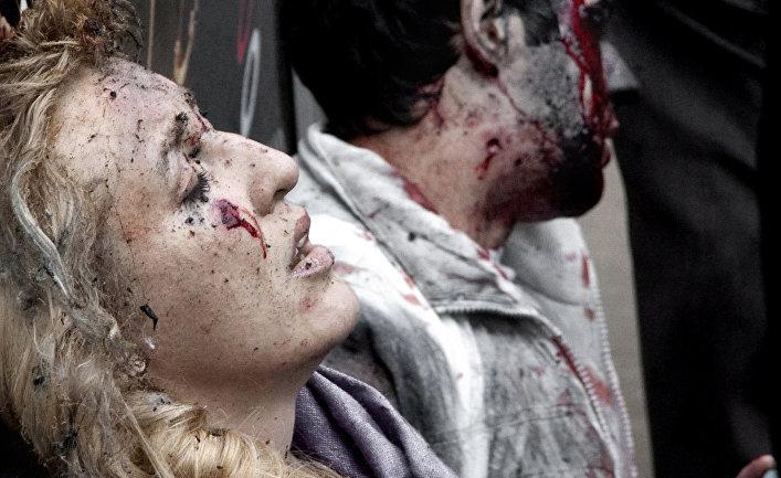 Люди, раненные во время теракта на станции метро «Парк культуры»