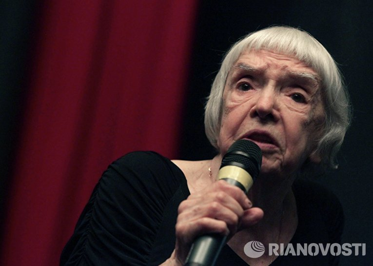 Людмила Алексеева на заседании Совета по правам человека