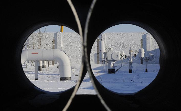 Газопровод в деревне Боярка под Киевом