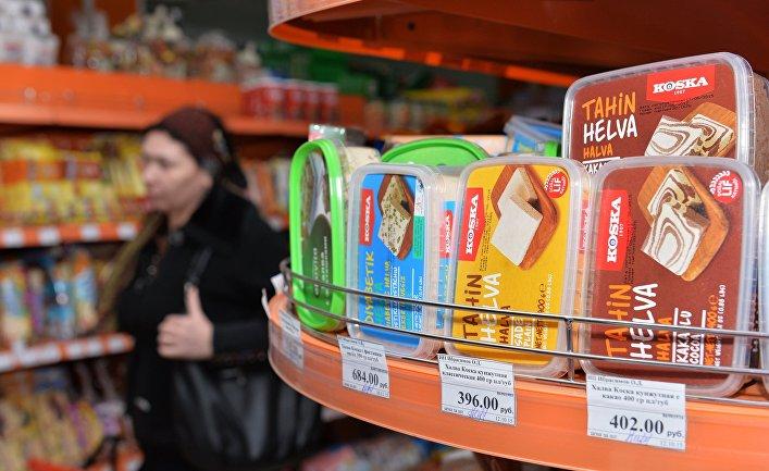 Продажа турецких продуктов в магазинах Грозного