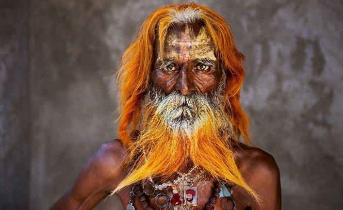 Старейшина племени Рабари, Раджастан, 2010 год