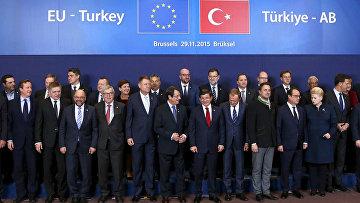 Саммит ЕС и Турции, посвященный проблеме беженцев