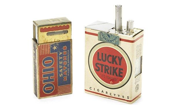 Редкие камеры аукциона Bonhams: камера Lucky Strike