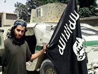 Предполагаемый организатор терактов в Париже Абдельхамид Абауд