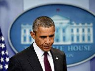 Президент США Барак Обама делает заявление по поводу стрельбы в колледже в Орегоне