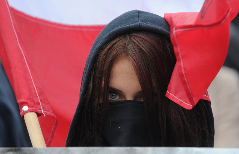 Марш националистов в Варшаве